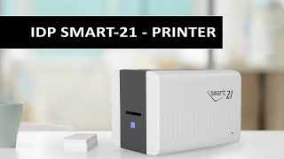 Watch the SMART-21 from IDP Corp, a Single sided hand-fed desktop ID card printer