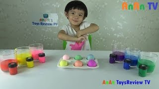 Coloring Easter Eggs With Sofia The First And Hello Kitty Stickers ❤ Anan ToysReview TV ❤