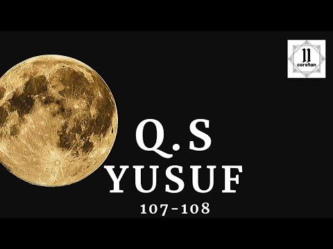 Surat Yusuf 107 108