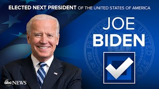 2020 Election Results Live: Joe Biden Will Become 46th President of the United States l ABC News