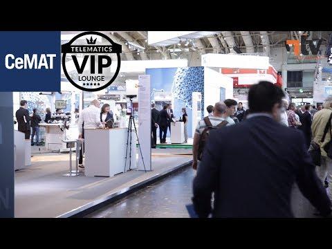 Telematics VIP-Lounge auf der CeMAT 2018: Geballte Kompet...