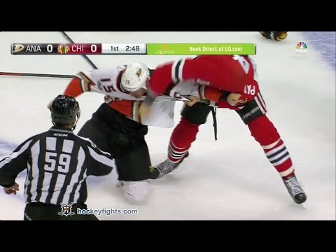 Richard Panik vs. Ryan Getzlaf