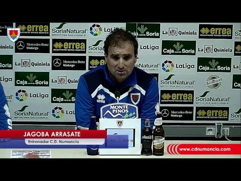Rueda de prensa de Jagoba Arrasate/ CDN