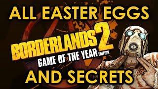 Borderlands 2 All Easter Eggs And Secrets   Part 1   HD