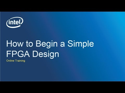 How to Begin a Simple FPGA Design - YouTube