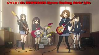 "K-ON! Opening 1 - ""Cagayake! GIRLS"" FULL (romaji) [ENG SUB]"