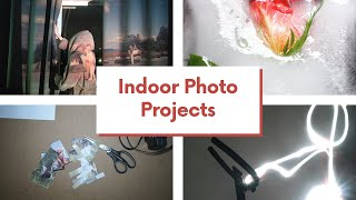 7 (Indoor) Photography Projects You Can Do!