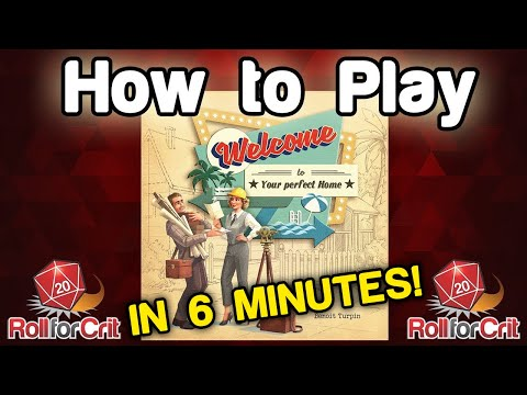 How to Play Welcome To... | Roll For Crit
