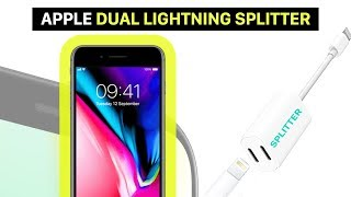 Lightning Splitter for your iPhone | listening to music while charging | iPhone X, iPhone 8 and 7