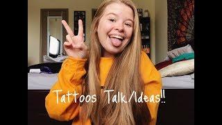 MY TATTOO IDEAS | Alyssa Michelle - Video Youtube