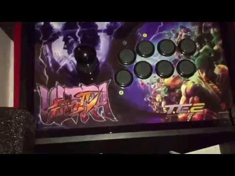 Видео № 0 из игры Аркадный Стик Mad Catz Ultra Street Fighter IV