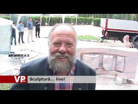 Sculptură… live!