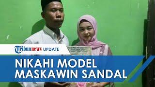 Pria di Lombok Nikahi Model dengan Mas Kawin Sandal Jepit dan Segelas Air, Istri Tak Mau Menyusahkan