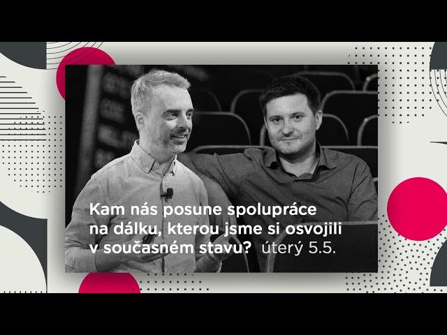 Pozvánka na vysílání Home Office TV s Danielem Francem a Lubošem Malým