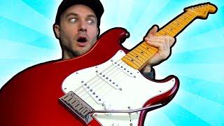 I Got A CUSTOM Fender Stratocaster!