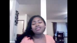 Mariah Carey Always Be My Baby  ( Cover ) Amariah Kimbrew