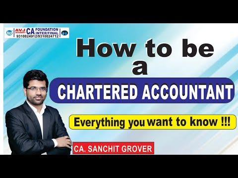 How to become a Chartered Accountant(CA)  All about CA Course ...