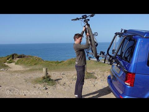 Installation Video of a Thule Wanderway 2 Bike Rack on a VW T6