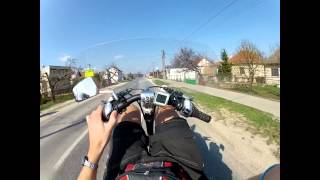 preview picture of video 'fast recumbent bike - GoPro HD hero 2'