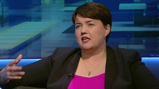 video: Unlikely bond with Labour leader helped me cope with referendum strain, Ruth Davidson reveals
