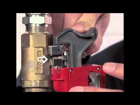 Screen capture of Master Lock Safety S3068 - Seal Tight™ Handle-On Ball Valve Lockout