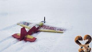 Пилотажный самолет из потолочки. Модель Катана