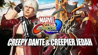 CREEPY DANTE & CREEPIER JEDAH - Marvel Vs. Capcom Infinite: Online Ranked Matches