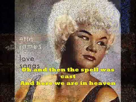 """AT LAST"" + Lyrics  ETTA JAMES  - Original Version - Candy Rock&Lyrics"