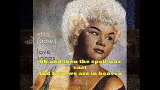 """AT LAST"" + Lyrics  ETTA JAMES  - Original Version"