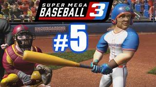 LIL KERSH'S FIRST HOME RUN! | SUPER MEGA BASEBALL 3 #5