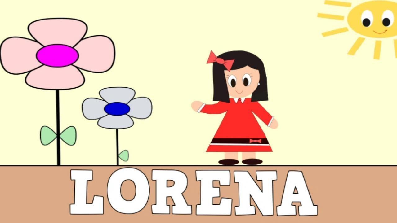 Aprender a Leer y Escribir LORENA - Vídeos educativos para Niñosy Bebés - Paty y Poty