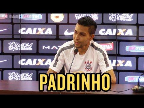 Petros se considera 'padrinho' de Malcom no Corinthians