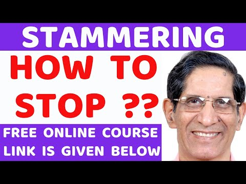 HOW TO STOP STAMMERING: A CRITICAL VIDEO:Dr. Arora MBBS Pune Haklana Stuttering Speech Therapist(40)