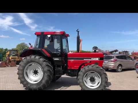 Video: Case International 1255XL traktor 1