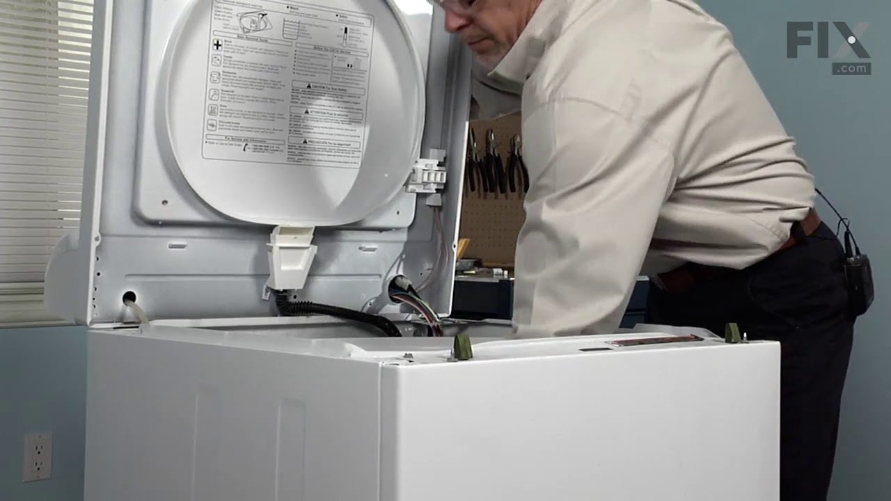 Replacing your Norge Washer Lid Hinge