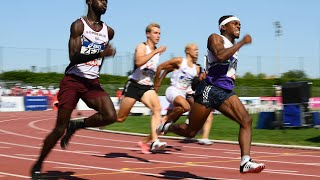 Albi 2020 : Finale 200 m M (Amaury Golitin en 20''67)