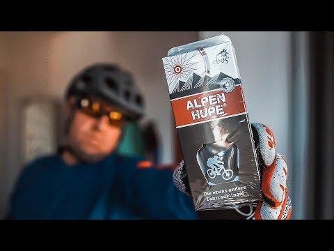 ALPENHUPE - The Original Fahrradklingel für Mountainbike und Cityrad