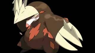 Drilbur  - (Pokémon) - Pokemon Black and White - Excadrill's Cry