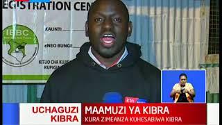 Asilimia 40 ya wapiga kura ndio waliojitokeza kupiga kura katika kituo cha ACK Makina
