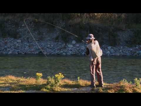 Fly Fishing DVD : Making of The Source - New Zealand