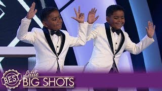 See Freddie & Teddy's Contagious Tap Dance! | Colombia Little Big Shots