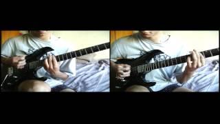 Bring Me The Horizon - Slow dance (Both guitars cover)