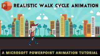 Siklus Jalan Animasi Berwarna-warni Dalam Tutorial Microsoft PowerPoint 2016