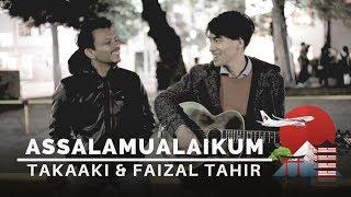 #MisiMencariLelakiJepun | Takaaki (Terry Bird) & Faizal Tahir - Assalamualaikum