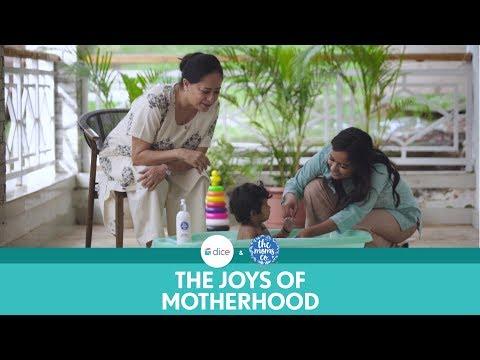 Dice Media   The Joys Of Motherhood   Ft. Sheeba Chaddha and Ronjini Chakraborty