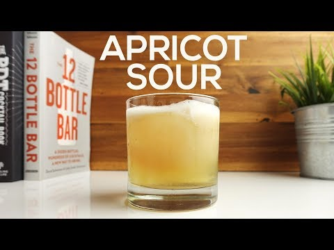 APRICOT SOUR – Epic Whiskey Cocktail Recipe!!