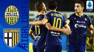 Hellas Verona 3-2 Parma   Hellas Verona Fight Back to Edge 5-Goal Thriller   Serie A TIM