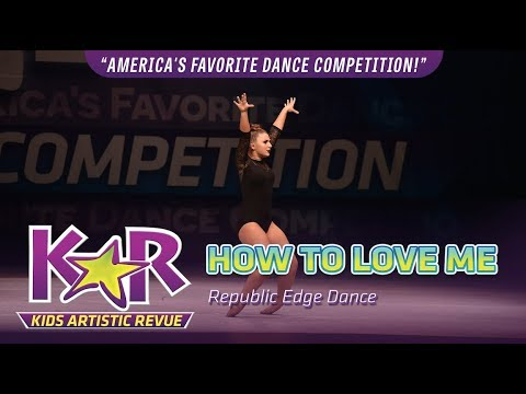 """""""How To Love Me"""" from Republic Edge Dance"""