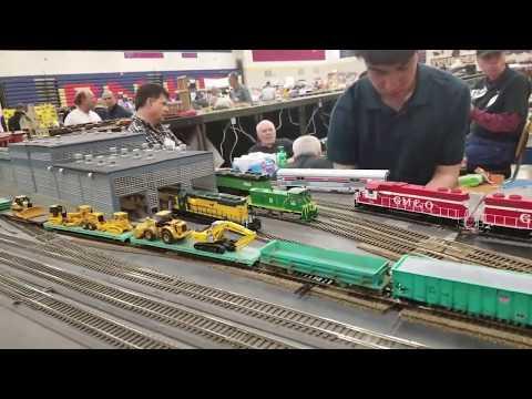 Model Train Show At Belvidere North High School 3/30/2019