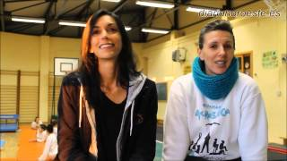 preview picture of video 'Visitamos al club Andraga de gimnasia acrobática, de Collado Villalba y Moralzarzal'